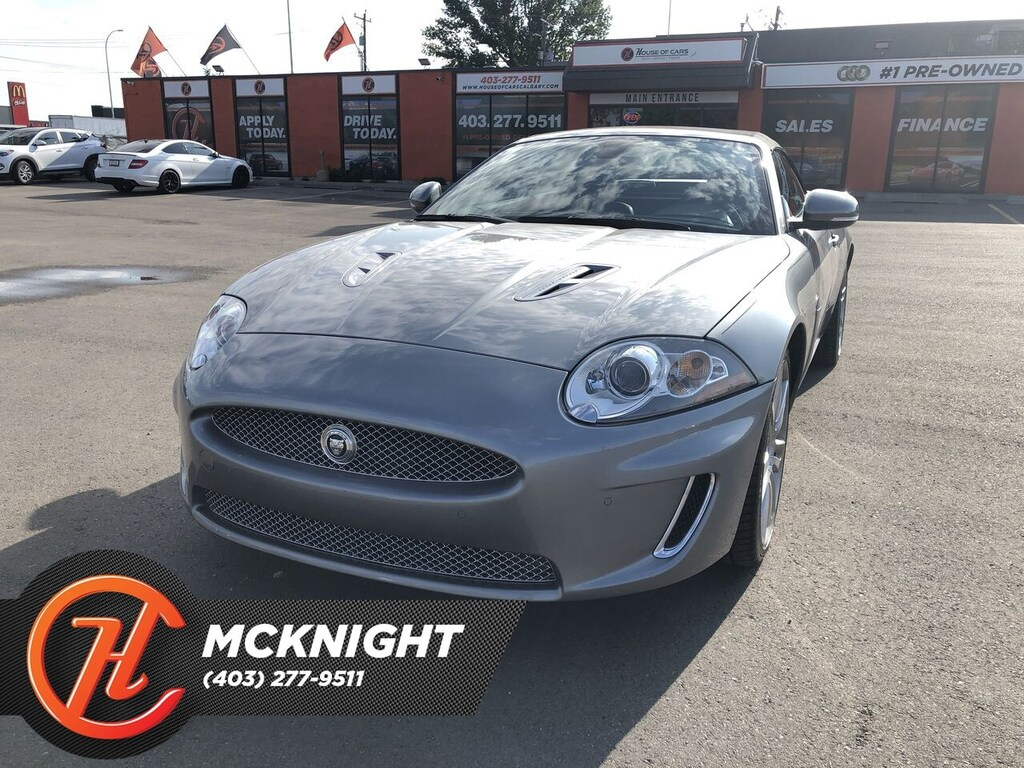 Pre-Owned 2011 Jaguar XK Leather / Navigation