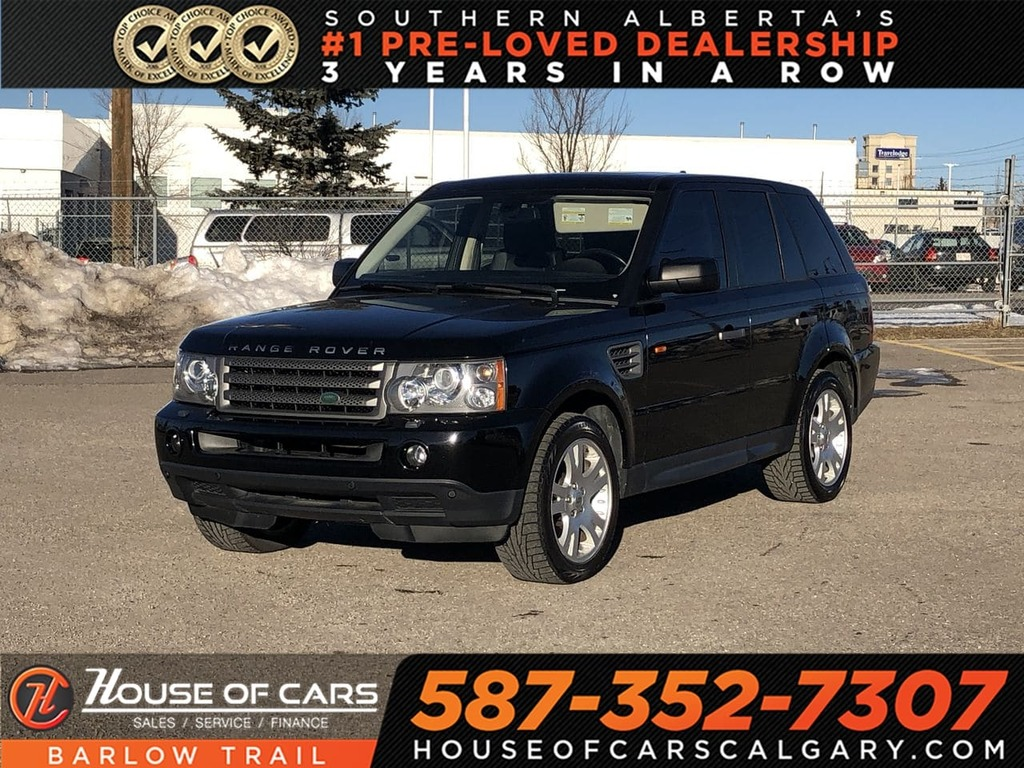 Pre-Owned 2006 Land Rover Range Rover Sport HSE / Heated leather seats / Sunroof