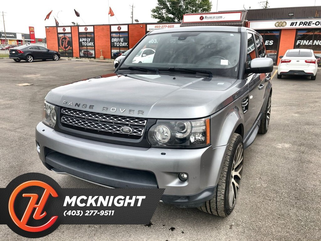 Land Rover Range Rover >> Pre Owned 2013 Land Rover Range Rover Sport Leather Roof Navi Cam 4x4 Sport Utility