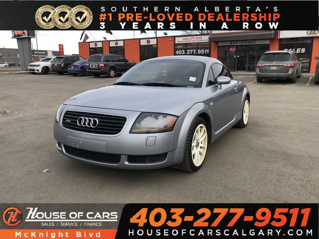 Pre-Owned 2002 Audi TT 1 8L / Leather AWD