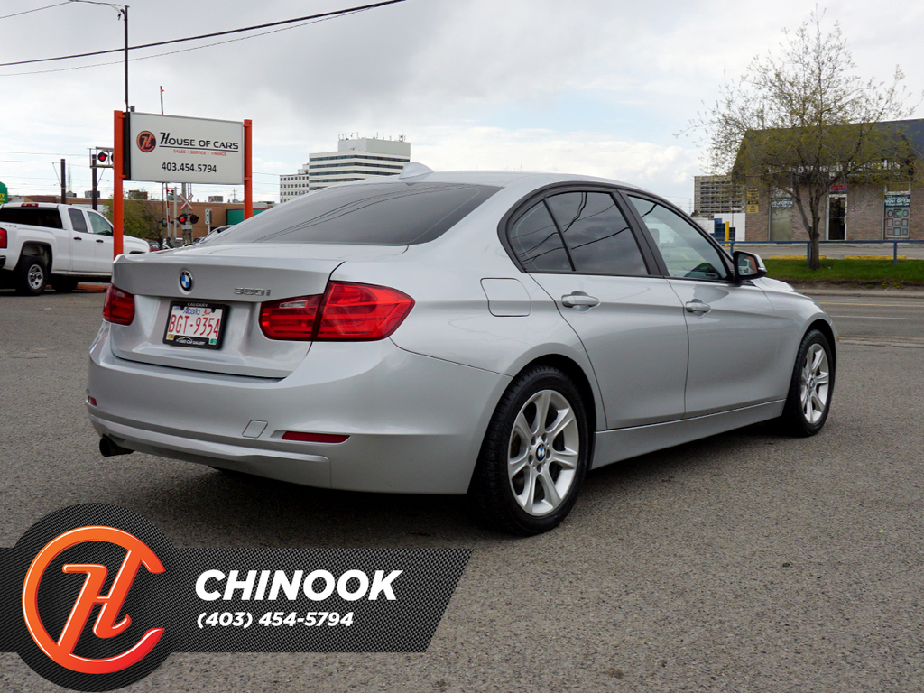 Pre-Owned 2012 BMW 3 Series 4dr Sdn 320i RWD