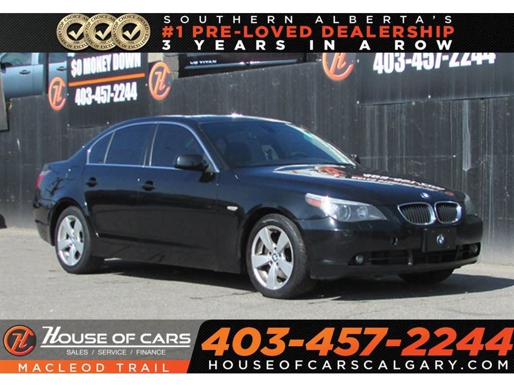 Pre Owned 2007 Bmw 525 Xi Mechanic Special Calgary