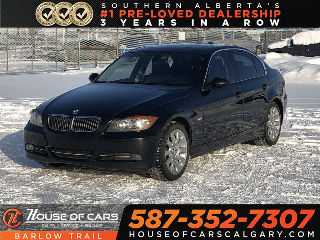 Pre-Owned 2008 BMW 335i xi / Heated leather seats / Sunroof