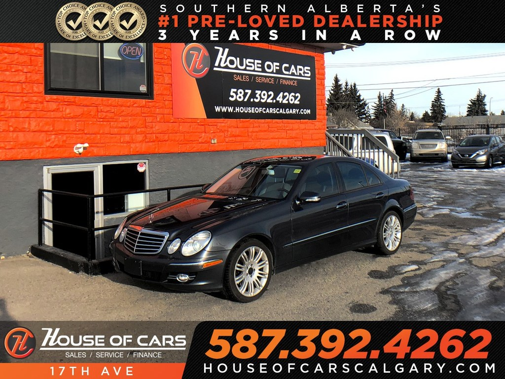 Pre-Owned 2009 Mercedes-Benz E-Class E300 / Navi / Heated seats / AWD