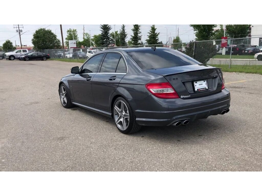 Pre-Owned 2009 Mercedes-Benz C-Class C63 / Sunroof / Heated Leather Seats /