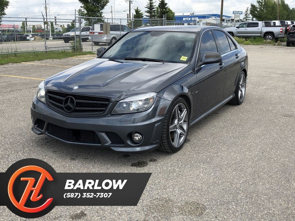 Pre-Owned 2009 Mercedes-Benz C-Class 6.3 L AMG / Sunroof / Heated Leather Seats /