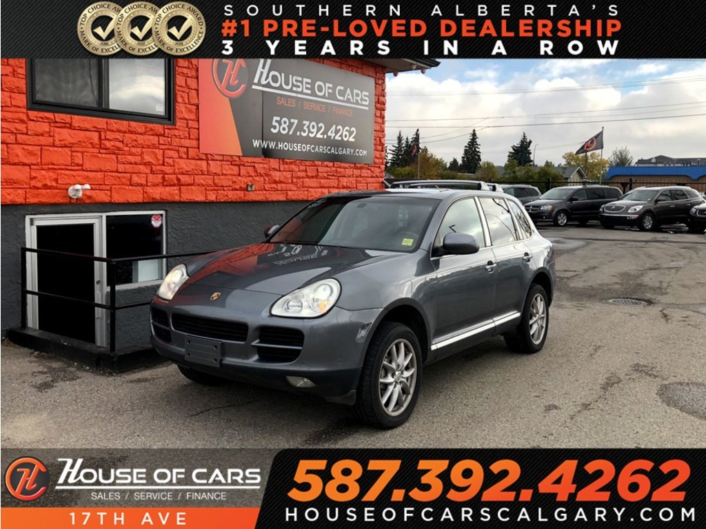 Pre-Owned 2004 Porsche Cayenne S / Heated seats/ Leather / Sunroof