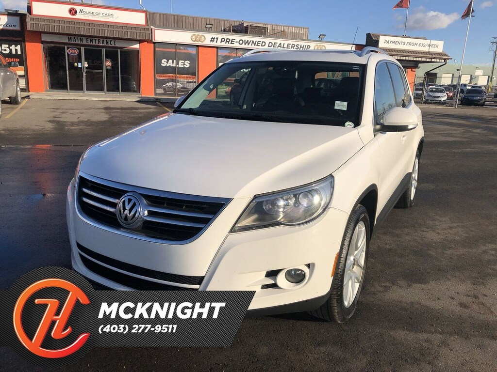 Pre-Owned 2010 Volkswagen Tiguan 2.0 TSI / Leather / Sunroof