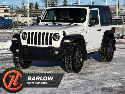 Pre-Owned 2019 Jeep Wrangler Sport S 4x4 / Leather / Back up cam
