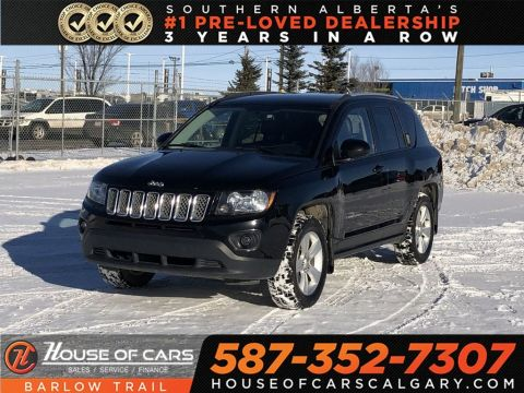 Pre-Owned 2015 Jeep Compass Sport/North / Heated leather seats