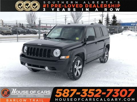 Pre-Owned 2016 Jeep Patriot High Altitude / Heated leather seats / Sunroof