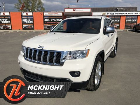 Pre-Owned 2012 Jeep Grand Cherokee Overland / Leather / Sunroof / Cam / Navi