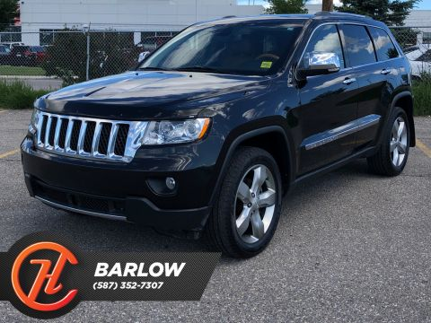 2012 Jeep Grand Cherokee 4WD 4dr Overland / Leather / Sunroof / Navi
