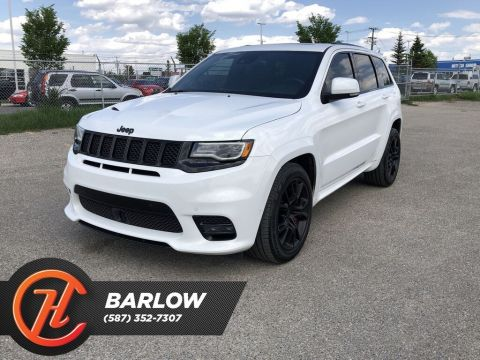 Pre-Owned 2017 Jeep Grand Cherokee SRT / Heated Leather Seats / Borla Atak Exhaust