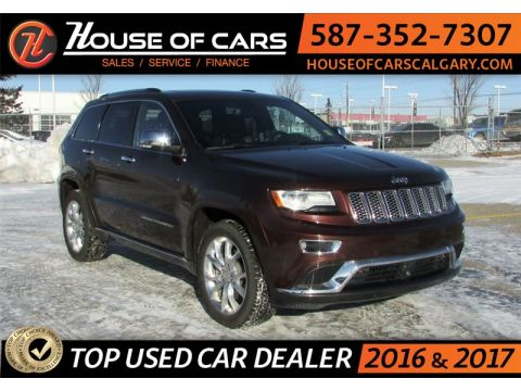 Pre-Owned 2014 Jeep Grand Cherokee / 4WD/EcoDiesel/Leahter /Navi /B... Summit 4x4 Sedan