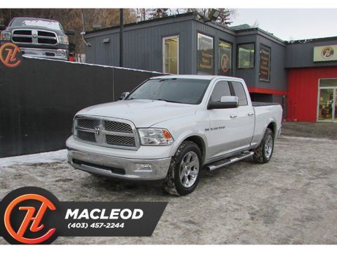 Pre-Owned 2012 Ram 1500 4WD Quad Cab Laramie LEATHER ROOF NAV