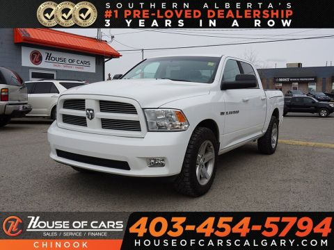 Pre-Owned 2012 Ram 1500 Sport w/ Heated Seats,Backup Camera,Bluetooth