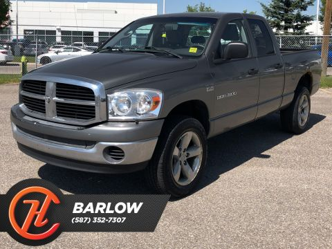 Pre-Owned 2007 Dodge Ram 1500 4WD Quad Cab