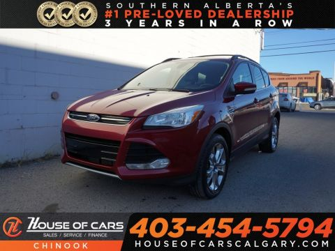 Pre-Owned 2013 Ford Escape SEL w/ Heated Seats,Panoramic Roof,Bluetooth