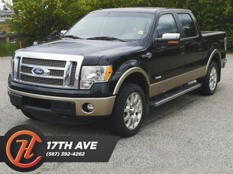 Pre-Owned 2012 Ford F-150 4WD SuperCrew 145 King Ranch