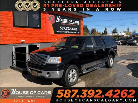 Pre-Owned 2007 Ford F-150 Lariat / Sunroof / Leather