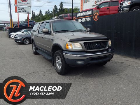2001 Ford F-150 Crew Cab XLT 4WD LEATHER MECHANIC SPECIAL