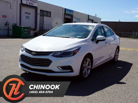Pre-Owned 2018 Chevrolet Cruze Premier w/ Heated Seats,Bluetooth,Backup Cam