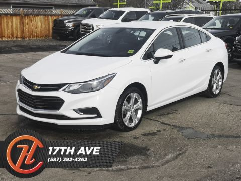 Pre-Owned 2017 Chevrolet Cruze 4dr Sdn 1.4L Premier / Back Up Camera / Bluetooth