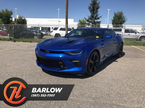 Pre-Owned 2018 Chevrolet Camaro 2SS / Back up Camera / Navi / Heated Leather Seats