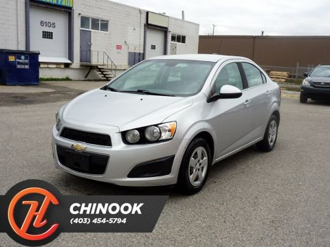 Pre-Owned 2015 Chevrolet Sonic LT w/ Bluetooth,Backup Camera,Heated Seats