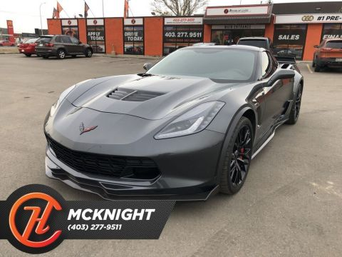 Pre-Owned 2017 Chevrolet Corvette Z06 / Leather / Back up cam