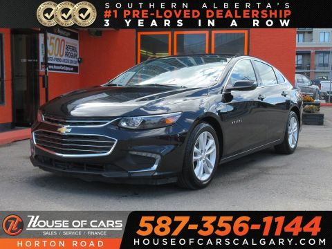 Pre-Owned 2017 Chevrolet Malibu LT/ Built in WI-FI/ XM Radio/ Back up Camera