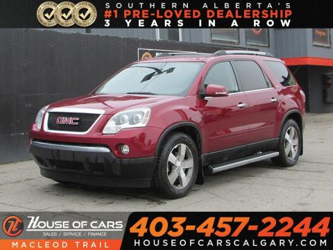 Pre-Owned 2010 GMC Acadia SLT/Leather seats/Heated seats/AWD/7 passenger