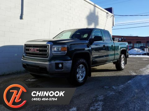 Pre-Owned 2014 GMC Sierra 1500 4WD Double Cab Standard Box SLE
