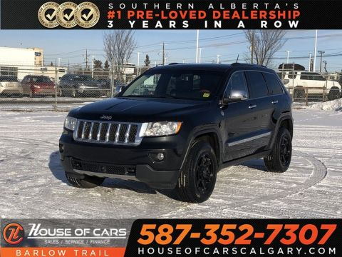 Pre-Owned 2011 Jeep Grand Cherokee Overland / Navi /Back up Camera /