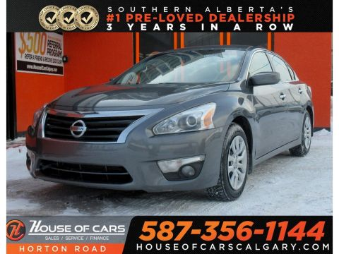 Pre-Owned 2015 Nissan Altima 2.5/BACKUP CAM/USB/BLUETOOTH