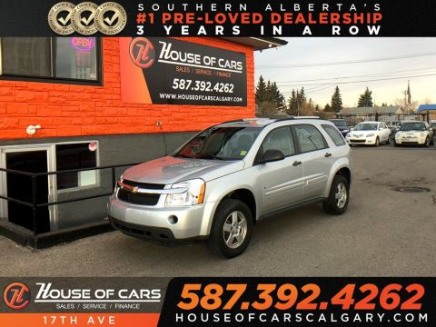 Pre-Owned 2009 Chevrolet Equinox LS / AWD / AUX