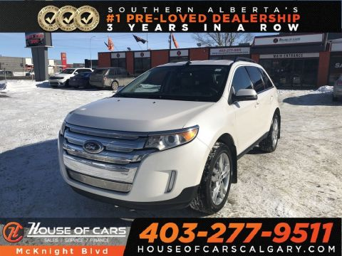 Pre-Owned 2013 Ford Edge Limited / Leather / Back Up Cam