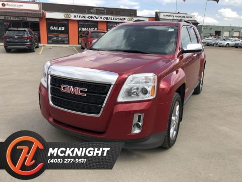 Pre-Owned 2015 GMC Terrain SLT-1 / Leather / Sunroof / Back Up Cam