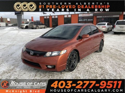 Pre-Owned 2010 Honda Civic Si / Sunroof