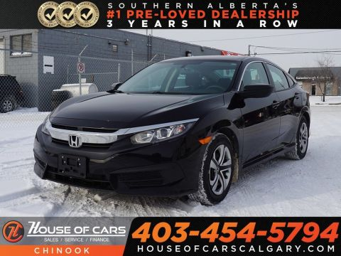 Pre-Owned 2018 Honda Civic LX w/ Bluetooth,Heated Seats,Backup Camera