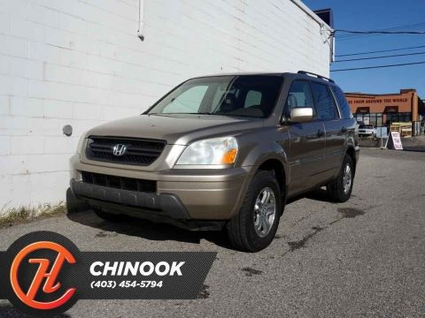 Pre-Owned 2005 Honda Pilot EX-L w/ Heated Seats,Sunroof