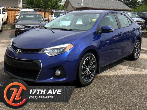 Pre-Owned 2016 Toyota Corolla S / Heated seats / Sunroof / Bluetooth