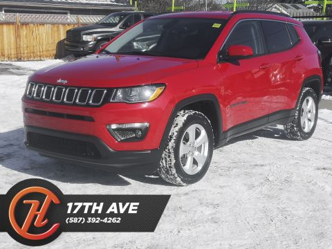 Pre-Owned 2018 Jeep Compass North / 4x4 / Bluetooth