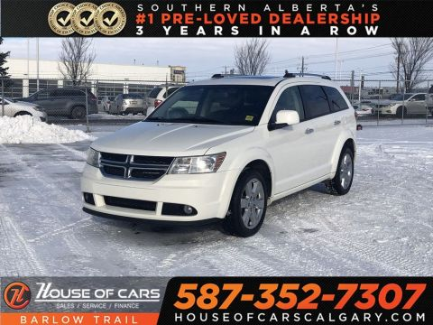 Pre-Owned 2011 Dodge Journey R/T / Heated leather seats / Navi / Sunroof