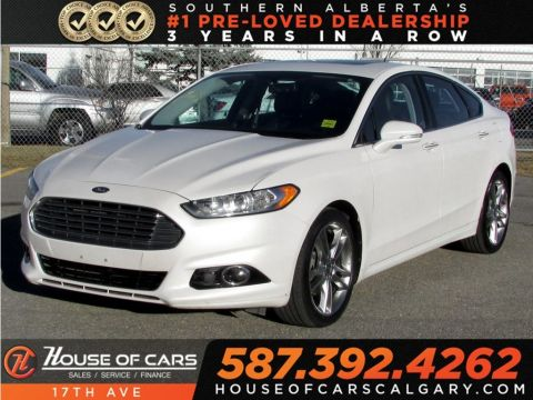 Pre-Owned 2013 Ford Fusion Titanium / Navi / Sunroof / Bluetooth
