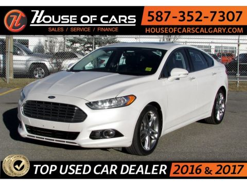 Pre-Owned 2013 Ford Fusion Titanium AWD / Navi / Back up Camera / Sunroof