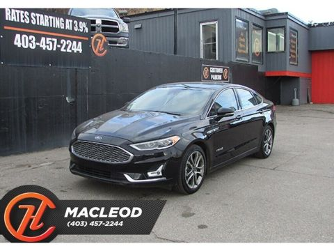 Pre-Owned 2019 Ford Fusion Hybrid Titanium LEATHER ROOF NAV