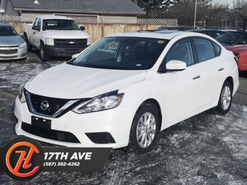 Pre-Owned 2019 Nissan Sentra SV / Heated Seats / Sunroof / Bluetooth