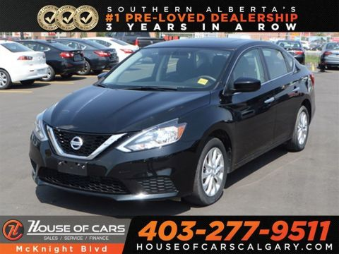 Pre-Owned 2017 Nissan Sentra 1.8 SV / Back Up Cam / Bluetooth